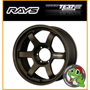 18インチRAYS VOLK Racing TE37 LARGE P.C.D Progressive Model 18×9.0J 5/150 ET0 BR(ブロンズ) FACE2 レイズ...