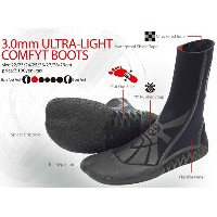 Xtend GEAR ULTRA-LIGHT COMFYT BOOTS エクステンドギア 3mmサーフブーツ/防寒サーフ用品【コンビニ受取対応商品】【RCP】