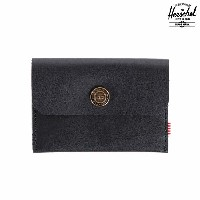 Herschel Supply Co. Jacks Wallet | Premium Leather (Black) (ハーシェル ジャック ウォレット) 【財布】【14HO-I】