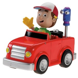 ディズニー・チャンネル おたすけマニー Fisher-Price Handy Manny's Tune-Up and Go: Truck