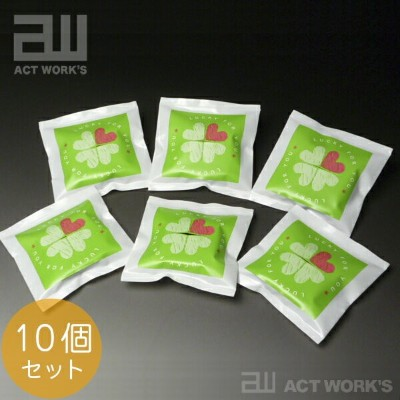 actwork's 四つ葉のクローバー Lucky for You×6個セット ポケットガーデン 【デザイン雑貨 アクトワークス ガーデニング ギフト 贈り物 ガーデニング プレゼント】