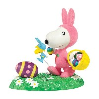 SNOOPY(スヌーピー)【Department56】It's The Easter Beagle【送料無料】(コインバンク、置物、キャラクターグッズ、バラエティ雑貨)