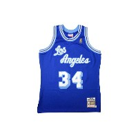 MITCHELL&NESS AUTHENTIC THROWBACK JERSEY (Los Angeles Lakers 1996-97/Shaquille O'Neal: Blue)ミッチェル...