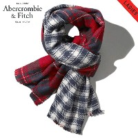 【20%OFFセール 3/16 10:00~3/19 9:59】 アバクロ Abercrombie&Fitch 正規品 ブランケット THE BLANKET Red Plaid 154-540...