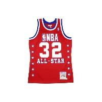 MITCHELL&NESS AUTHENTIC THROWBACK JERSEY (1990 NBA All-Star/Magic Johnson : Red)ミッチェル&ネス/スローバックジャージー...