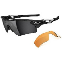 Oakley オークリー サングラス Radarlock Path レーダーロックパス OO9181-01 【Polished Black/Black Iridium & Persimmon】