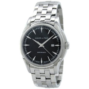ハミルトン メンズ 腕時計 Hamilton H32715131 Viematic Automatic Black Dial Stainless Steel Men's Watch