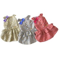 mimtto(ミムット) Little flower dress(XXS/XS/SS) お取寄せ商品【犬服 小型犬 ウエア ワンピース ドレス/送料無料】