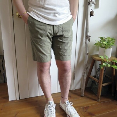 【50%OFF】ENDS and MEANS エンズアンドミーンズ Baker Shorts ベイカーショーツ ※返品交換不可
