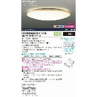 LEDH84663LC-LT4 東芝 和風シーリングライト 調光・調色 LED(調色) ~10畳 532P15May16 lucky5days