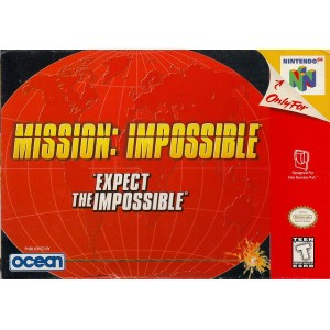 【中古】 N64 北米版 MISSION: IMPOSSIBLE EXPECT THEIMPOSSIBLE