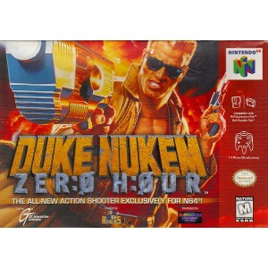 【中古】 N64 北米版 DUKE NUKEM ZERO HOUR