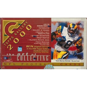NFL 2000 TOPPS GALLERY BOX