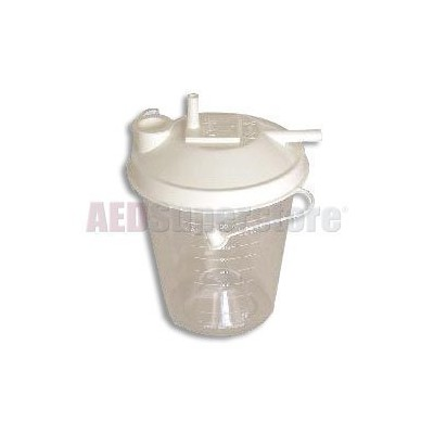 Laerdal Canister Suction 800ml w/Lid (48/ea)(for 88005001 Suction Unit) - 884701