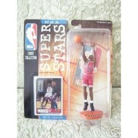 Mattel NBA Super スター Figure 1998-99 Edition - Michael Jordan (Red Chicago Bulls Jersey)
