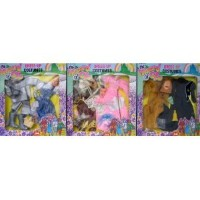 """Wizard of Oz Dress Up Costumes Fits Barbie & 11.5"""" Fashion Dolls - Complete SET of 6 Costumes (3 B"""