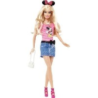 Barbie(バービー) Loves Minnie Mouse (ミニーマウス) Disney (ディズニー)Doll [Toys & Games] Holiday