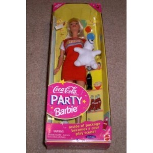 Coca-Cola Party Barbie バービー Doll 人形 ドール