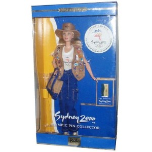 Barbie バービー Sydney 2000 Olympic Pin Collector - Collector Edition Doll 人形 ドール