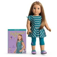 American Girl of the Year 2012 McKenna Doll ドール & Book