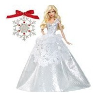 2013 Holiday Barbie(バービー) Doll with Ornament collector's edition ドール 人形 フィギュア