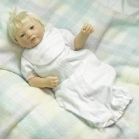Lee Middleton Artist Studio Collection 'First Day Home' Newborn Baby Doll 人形 ドール