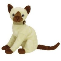 Siam the Siamese Cat Ty Beanie Baby (ビーニーベイビーズ) by Ty TOY ドール 人形 フィギュア