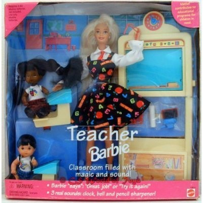 Teacher Barbie バービー Gift Set 人形 ドール