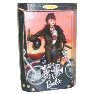 Barbie(バービー) Year 1998 Motorcycles Harley-Davidson (ハーレーダビッドソン) 2nd In A Series 12 I
