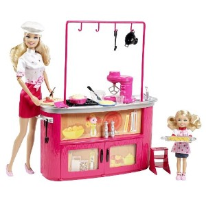 Barbie バービー I Can Be Cooking Teacher Doll Playset 人形 ドール