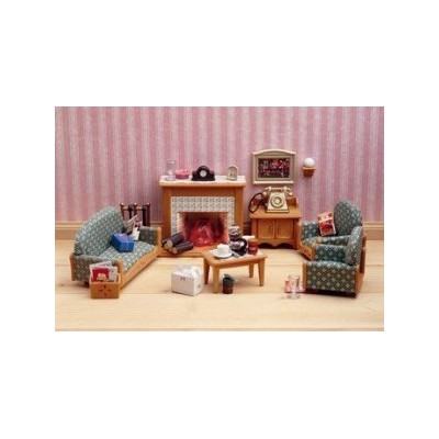 Sylvanian Families Victorian Living Room Set Toy