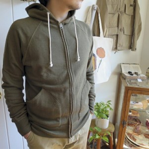 ENDS and MEANS Zip Hoodie エンズアンドミーンズ ジップフーディ スウェット