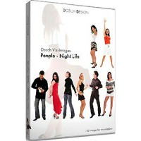 DOSCH DESIGN DOSCH Viz-Images: People ~ Night Life DVI-PNIL