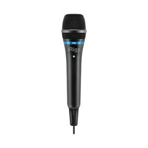 【送料無料】 IKMULTIMEDIA 【iPad/iPhone対応】マイク[Lightning/USB・iOS/Mac/Win] iRig Mic HD ブラック IKM-OT-000040c...