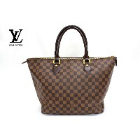 【LOUIS VUITTON】 ルイヴィトン ダミエ サレヤ トートバッグ N51188【中古】