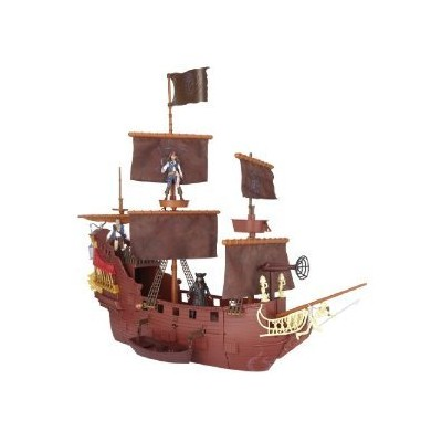 Pirates Of The Caribbean Queen Anne's Revenge ヒーロー Ship プレー Set