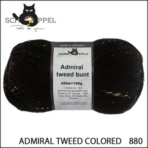 SCHOPPEL 靴下用毛糸 ADMIRAL TWEED COLORED 880