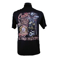 Once A Fire Fighter 消防Tシャツ SH