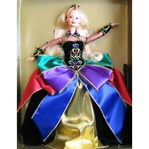Midnight Princess Barbie バービー Doll ドール Limited Edition - Winter Princess Collection (1997)