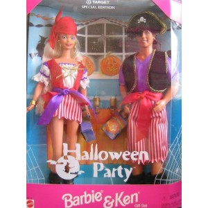 Target Special Edition Halloween Party Barbie バービー and Ken 人形 ドール