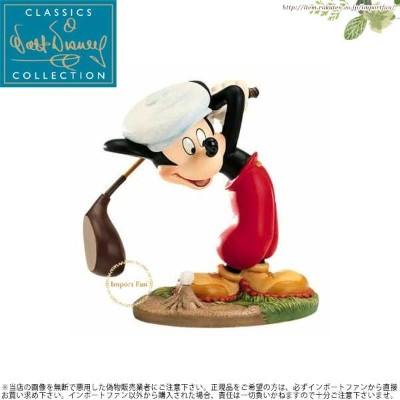 WDCC ミッキーマウス ゴルフ 練習 Mickey Mouse What a swell day for a game of golf 11k41149 【ポイント最大42倍!お買い物マラソン】