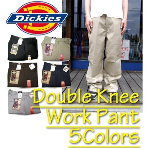 Dickies◆ディッキーズ 85283 ダブルニーワークパンツ Double Knee Work Pant チノパン 全5色