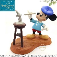 WDCC ミッキー クラシックを作り出す Mickey Mouse Creating A Classic Mickey Sculpting Mickey 1217927 □