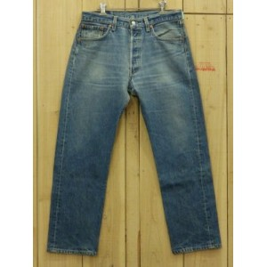 USA古着/激ヒゲ/MADE IN USA/90S 古着LEVIS/リーバイス 501/ W33×L29