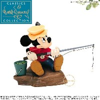 WDCC ミッキーの魚釣り Mickey Mouse Somethin Fishy The Simple Things □
