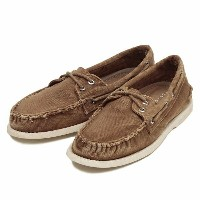 【SPERRY TOPSIDER】 スペリー トップサイダー A/O 2 COLOR WASH オーセンティックオリジナル 2アイレット カラー ウォッシュ STS10596 BROWN