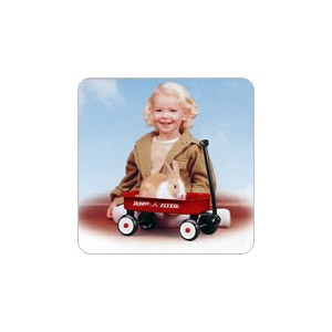 #5 Radio Flyer Little Red Wagon(即納可!)【RCP】【楽天カード分割】