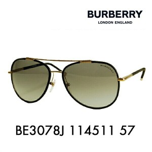 【OUTLET★SALE】アウトレット セール バーバリー サングラス BE3078J 114511 57 BURBERRY