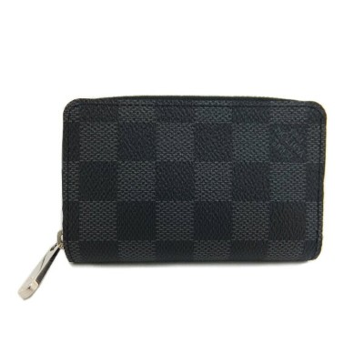 LOUIS VUITTON ジッピー・コインパース ダミエ・グラフィット 未使用 【中古】
