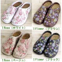 Flower Print Shoes ガーデンシューズ【MR2325~】